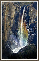 Bridalveil Fall Rainbow