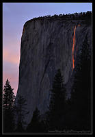 "Horsetail Fall ""Firefall"""
